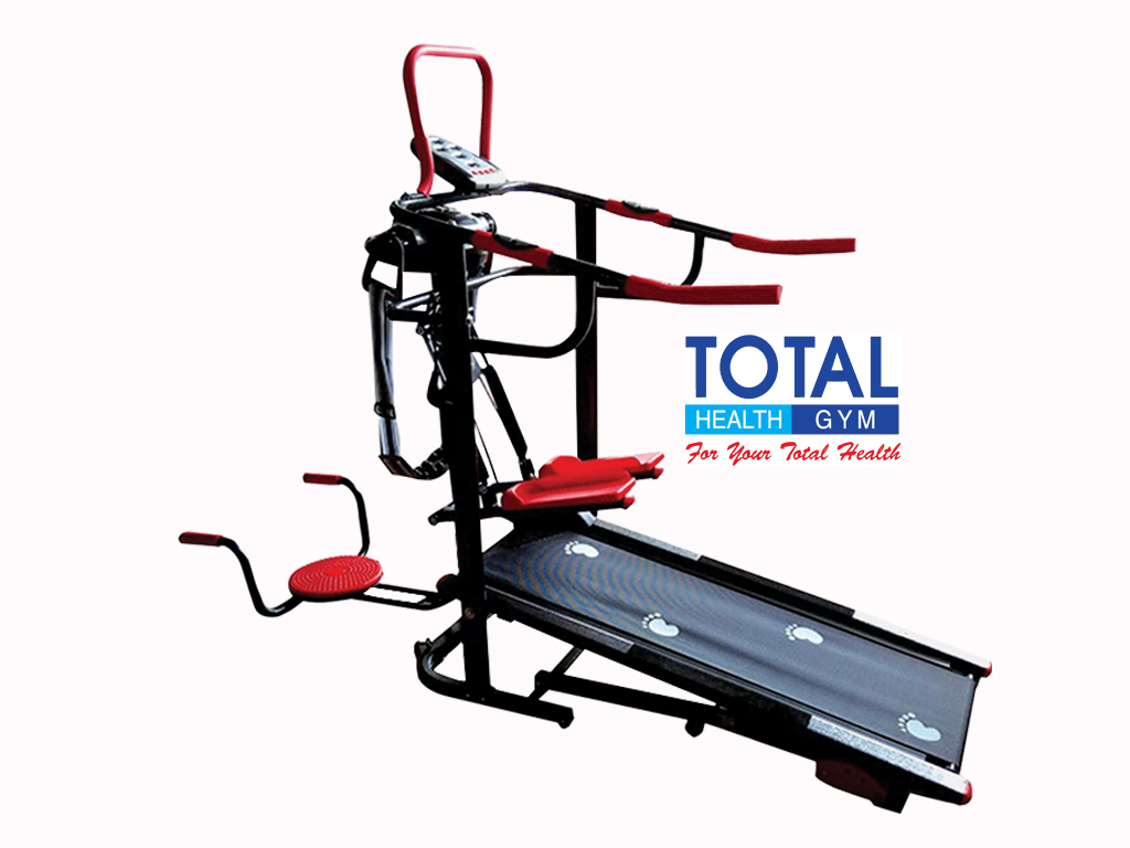 TL - 004 AG - Treadmill Manual 6 fungsi